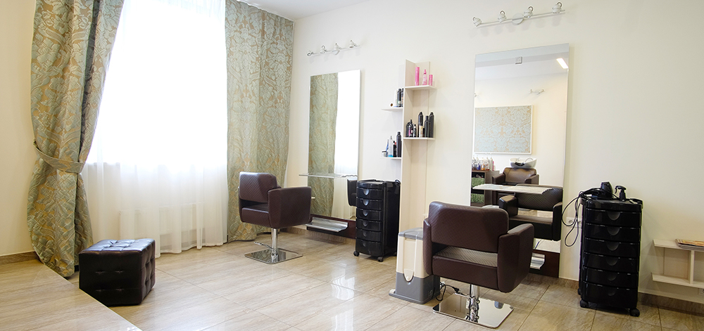 relaxing salon design