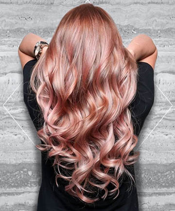 The Top Brands For Gorgeous Rose Gold Hair Color