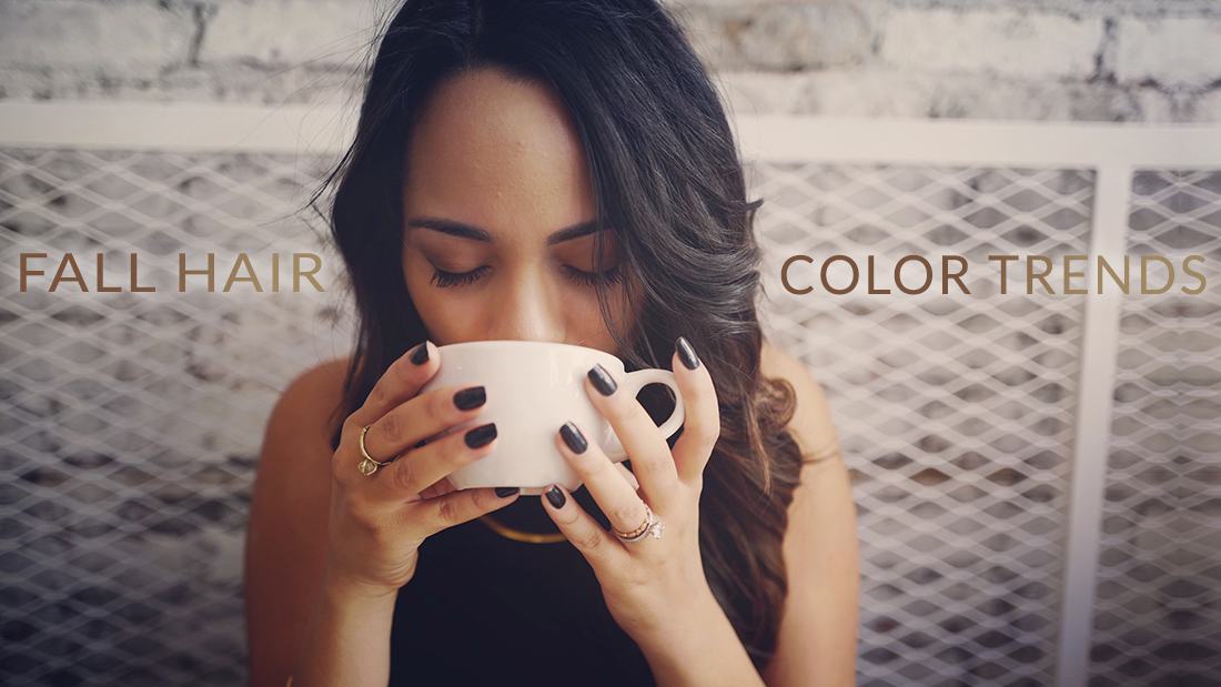 Fall Hair Colors Better Than Your Pumpkin Spice Latte