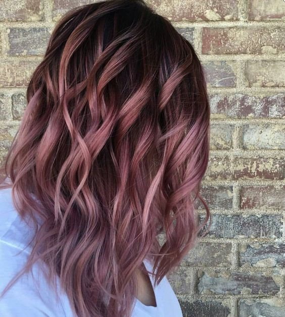 The Top Brands And Client Tips For Gorgeous Rose Gold Hair Color